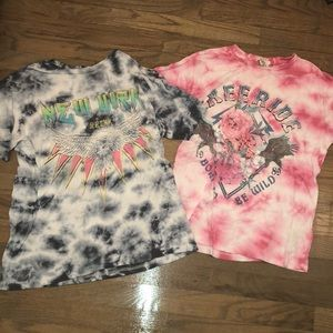 FOREVER 21 TYE DYE BUNDLE OF SHIRTS